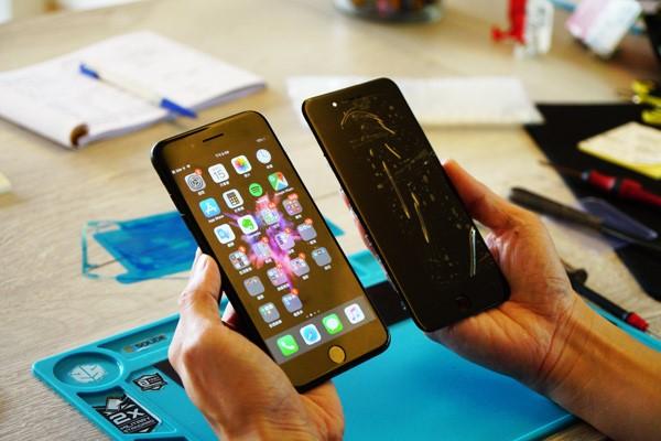 新竹iphone手機維修 結束並給客人確認手機功能之後,若後續使用上有問題的話隨時都可以再回來店家檢測。