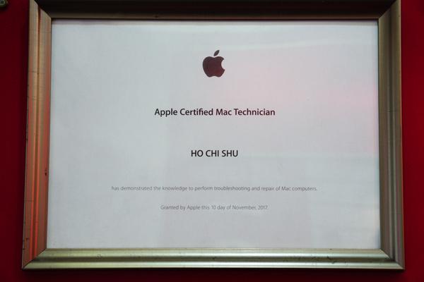 膜幻鎂機 APPLE Cerfifed IOS Techincian 蘋果ios認證維修工程師