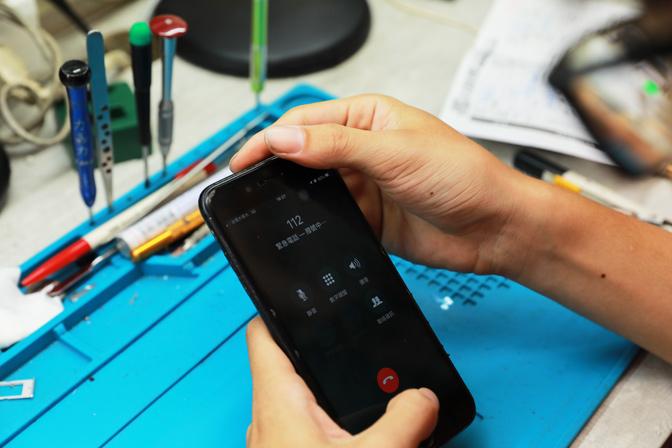 iphone現場維修 過程中我們會按照蘋果官方維修流程來檢測,仔細確認手機功能一切正常後,才會進行維修動作。